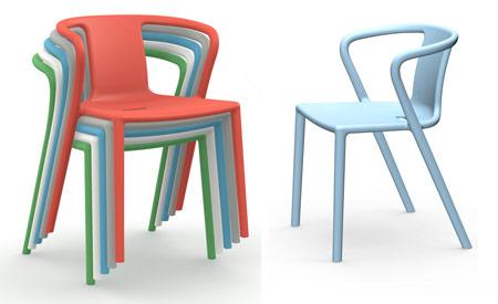 Nieuwe collectie outdoor stoelen